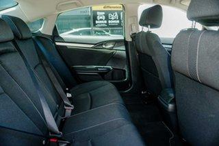 2017 Honda Civic 10th Gen MY16 VTi-L White 1 Speed Constant Variable Sedan