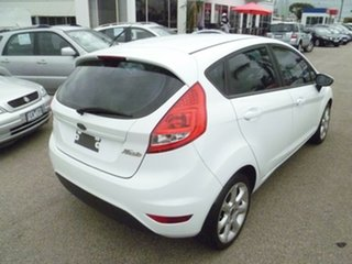 2010 Ford Fiesta WS LX White 5 Speed Manual Hatchback