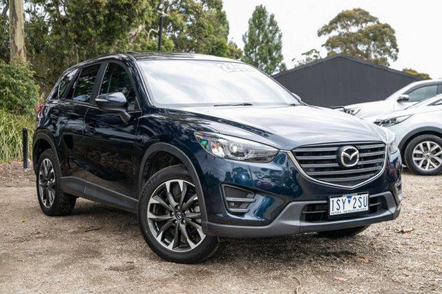 Used Mazda CX-5 KE1032 Grand Touring SKYACTIV-Drive AWD Mornington, 2016 Mazda CX-5 KE1032 Grand Touring SKYACTIV-Drive AWD Blue 6 Speed Sports Automatic Wagon