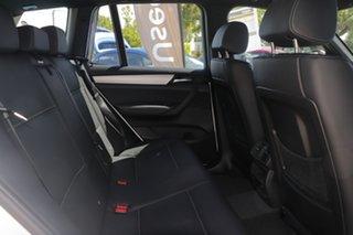 2014 BMW X3 F25 MY1213 xDrive30d Steptronic White/black Leather 8 Speed Automatic Wagon