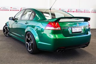 2011 Holden Commodore VE II SS Green 6 Speed Manual Sedan.