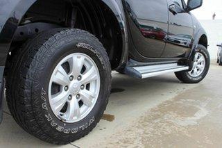 2014 Mitsubishi Triton MN MY15 GLX Double Cab Black 4 Speed Sports Automatic Utility.