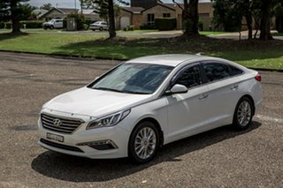 2014 Hyundai Sonata LF Elite Ice White 6 Speed Sports Automatic Sedan.