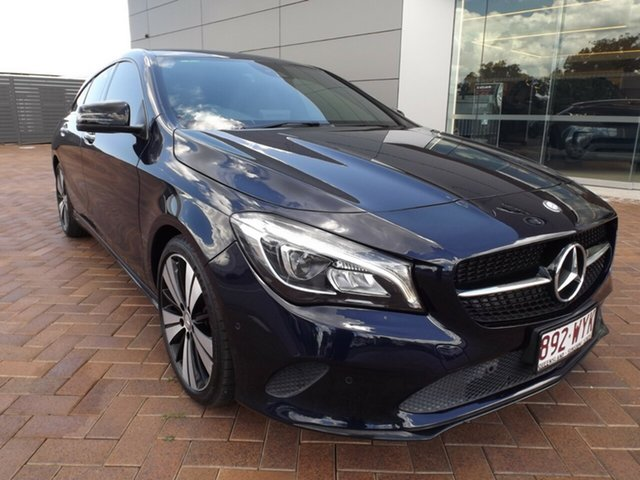 Used Mercedes-Benz CLA-Class X117 807MY CLA220 d Shooting Brake DCT Toowoomba, 2016 Mercedes-Benz CLA-Class X117 807MY CLA220 d Shooting Brake DCT 7 Speed