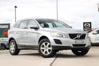 2013 Volvo XC60 DZ MY13 D4 Geartronic Teknik Silver 6 Speed Sports Automatic Wagon.