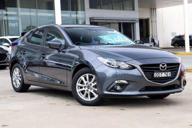 Used Mazda 3 BM5478 Maxx SKYACTIV-Drive Kirrawee, 2016 Mazda 3 BM5478 Maxx SKYACTIV-Drive Grey 6 Speed Sports Automatic Hatchback