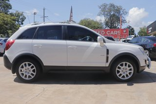 2013 Holden Captiva CG Series II MY12 5 AWD White 6 Speed Sports Automatic Wagon.