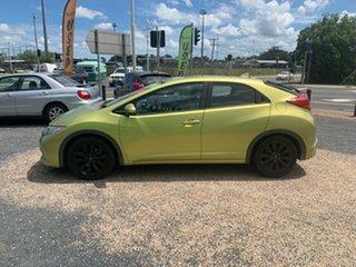 2012 Honda Civic Green Coupe