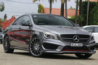 2016 Mercedes-Benz CLA250 117 MY16 4Matic Grey 7 Speed Automatic Coupe.