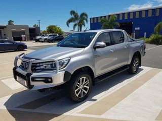 2017 Toyota Hilux GUN126R SR5 Double Cab Silver Sky 6 Speed Sports Automatic Utility