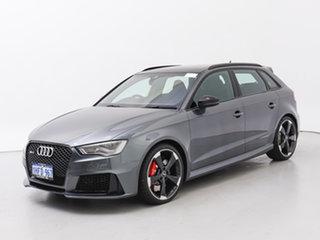 2016 Audi RS 3 8V Sportback Quattro Grey 7 Speed Auto Dual Clutch Hatchback.
