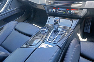 2013 BMW 5 Series F10 LCI 528i Steptronic Luxury Line Black 8 Speed Sports Automatic Sedan