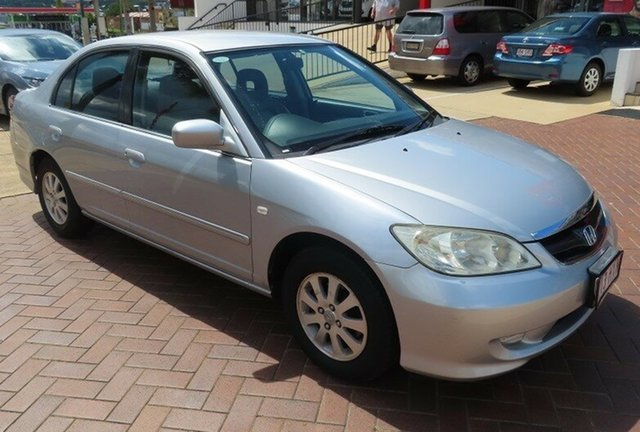 Used Honda Civic GLi Toowoomba, 2004 Honda Civic GLi Silver Automatic Sedan