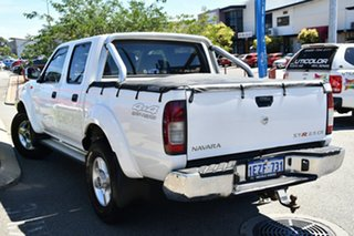 2009 Nissan Navara D22 MY2009 ST-R White 5 Speed Manual Utility.