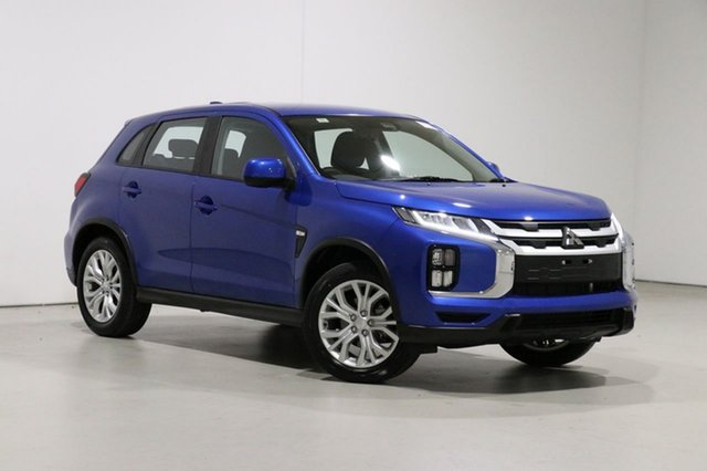 Used Mitsubishi ASX XD MY20 ES (2WD) Bentley, 2019 Mitsubishi ASX XD MY20 ES (2WD) Blue Continuous Variable Wagon