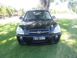 2007 Hyundai Tucson JM City SX Black Manual Wagon.