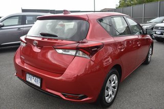 2017 Toyota Corolla ZRE182R Ascent S-CVT Red/Black 7 Speed Constant Variable Hatchback.