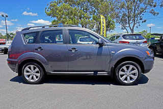 2011 Mitsubishi Outlander ZH MY11 Activ 2WD Grey 6 Speed Constant Variable Wagon