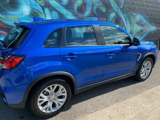 2020 Mitsubishi ASX XD MY21 ES 2WD ADAS Lightning Blue 1 Speed Constant Variable Wagon