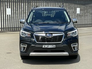 2020 Subaru Forester S5 MY20 Hybrid S CVT AWD Black 7 Speed Constant Variable Wagon Hybrid.