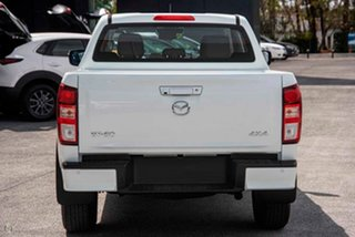 2020 Mazda BT-50 TFS40J XT White 6 Speed Manual Utility.