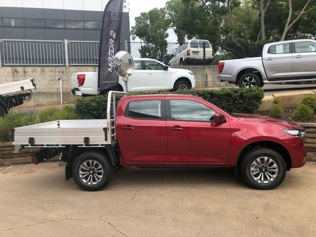 Demo Mazda BT-50 TFS40J XT Toowoomba, 2020 Mazda BT-50 TFS40J XT 6 Speed Sports Automatic Cab Chassis