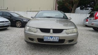 2002 Holden Commodore VX II Equipe Gold 4 Speed Automatic Sedan