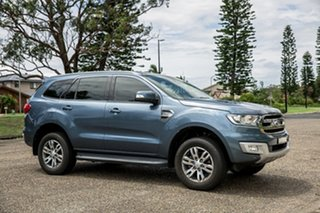 2017 Ford Everest UA Trend Blue 6 Speed Sports Automatic SUV.