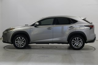 2017 Lexus NX AGZ10R NX200t 2WD Luxury Silver 6 Speed Sports Automatic Wagon.