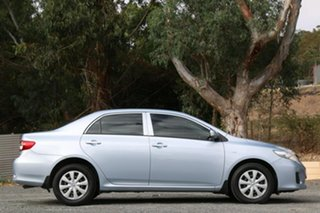 2010 Toyota Corolla ZRE152R Ascent Silver 4 Speed Automatic Sedan