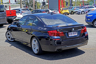 2013 BMW 5 Series F10 LCI 528i Steptronic Luxury Line Black 8 Speed Sports Automatic Sedan.