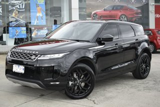 2019 Land Rover Range Rover Evoque L551 MY20 D150 S Black 9 Speed Sports Automatic Wagon.