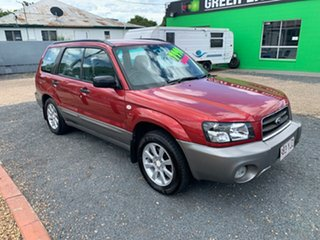 2004 Subaru Forester XS Red Automatic Wagon.
