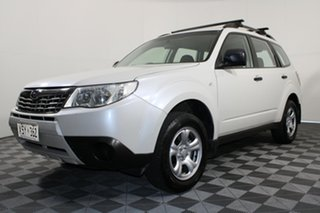 2008 Subaru Forester S3 MY09 X AWD White 5 Speed Manual Wagon.