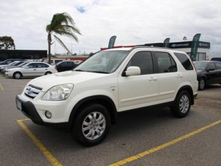 2006 Honda CR-V RD MY2006 Sport 4WD White 5 Speed Automatic Wagon