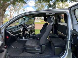 2015 Toyota Hilux GUN126R SR5 Extra Cab Grey 6 Speed Manual Utility