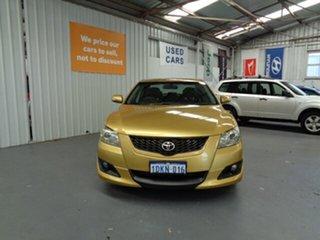 2007 Toyota Aurion GSV40R Sportivo ZR6 Yellow 6 Speed Sports Automatic Sedan.