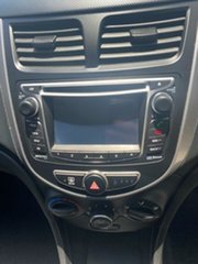 2015 Hyundai Accent RB3 MY16 Active Century White 6 Speed Manual Hatchback