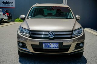 2012 Volkswagen Tiguan 5N MY12.5 155TSI DSG 4MOTION Beige 7 Speed Sports Automatic Dual Clutch Wagon
