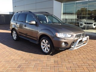 2012 Mitsubishi Outlander ZH MY12 XLS 6 Speed Constant Variable Wagon.