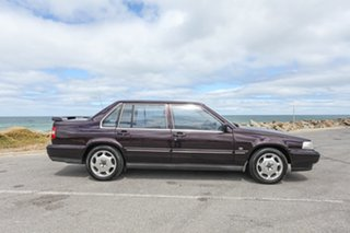1997 Volvo S90 SE Purple 4 Speed Automatic Sedan.
