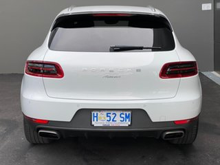 2018 Porsche Macan 95B MY18 PDK AWD White 7 Speed Sports Automatic Dual Clutch Wagon