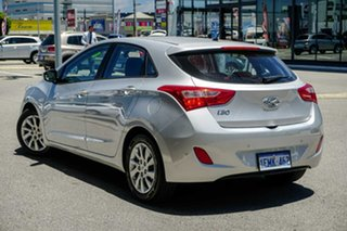 2014 Hyundai i30 GD2 Active Silver 6 Speed Sports Automatic Hatchback.