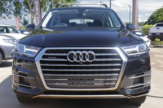2017 Audi Q7 4M MY17 TDI Tiptronic Quattro Black 8 Speed Sports Automatic Wagon.