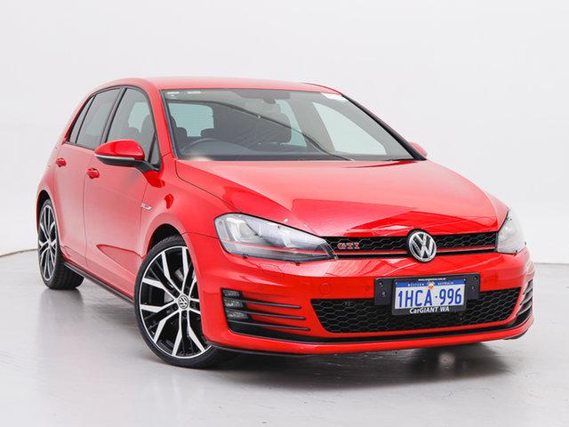 Used Volkswagen Golf AU MY15 GTI Performance, 2014 Volkswagen Golf AU MY15 GTI Performance Red 6 Speed Direct Shift Hatchback