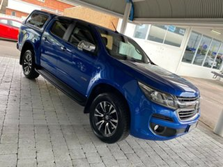 2019 Holden Colorado LTZ Blue Sports Automatic Dual Cab Utility.