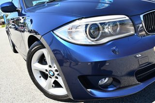 2011 BMW 1 Series E82 LCI MY11 120i Steptronic Blue 6 Speed Sports Automatic Coupe.