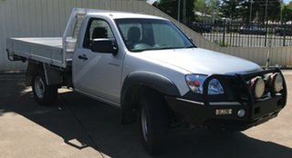 2008 Mazda BT-50 UNY0E3 DX Silver 5 Speed Manual Cab Chassis.