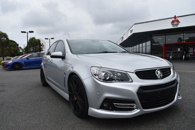Used Holden Commodore VF MY14 SS V Redline Wantirna South, 2014 Holden Commodore VF MY14 SS V Redline Billet Silver 6 Speed Manual Sedan