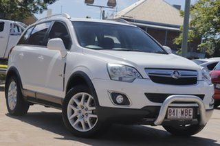 2013 Holden Captiva CG Series II MY12 5 AWD White 6 Speed Sports Automatic Wagon